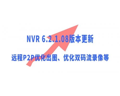 【技术篇】NVR 6.2.1.08版本更新说明